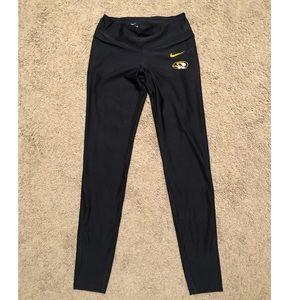 Nike pro pants Mizzou tigers